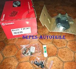 1 x BREMBO F 85 267 BREMSSATTEL HA AUDI Q3 VW CC PASSAT SHARAN TIGUAN SEAT