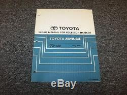 2004-2005 Toyota Rav4 Crossover Shop Service Collision Damage Repair Manual 2.0L