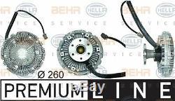 8MV 376 730-111 HELLA Clutch radiator fan