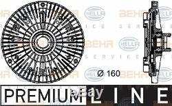 8MV 376 732-101 HELLA Clutch, radiator fan