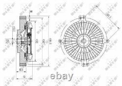 Clutch Cooling Radiator Cooling Fan Module Unit For Mercedes Benz Sl R129 M 119