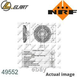 Clutch Radiator Fan For Nissan Cabstar E Tl VL Bd 30ti Nrf 2108269t60 2108269t68