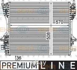 Coolant Radiator For JaguarXJ C2D26048 C2D38733 C2Z10787