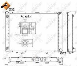 Coolant Radiator MBW201,190 A2015008503 2015008503 A2015007303 A2015008603