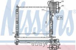 Coolant Radiator MBW638,638/2, VITO, V R11852 R11660 6385012701 6385011601