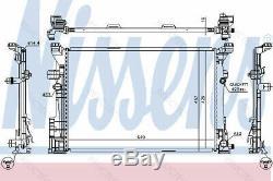 Coolant Radiator for MB InfinitiW176, W246 W242, X156, C117, W245, X117, A, B, GLA