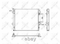 Coolant Radiator for ToyotaLAND CRUISER 1640030140