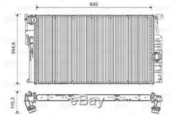 Engine Cooling Radiator Valeo 735454 I New Oe Replacement