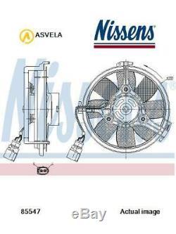 Fan Radiator For Audi Vw A8 4d2 4d8 Ack Alg Amx Apr Aqd Afb Akn Aqf Aux Nissens