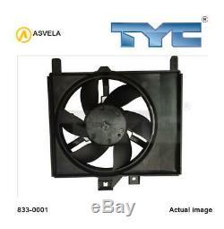 Fan Radiator For Smart City Coupe 450 M 160 E6al B04 M 160 920 Om 660 De 8la Tyc