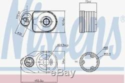 Fiat Ducato Peugeot Boxer Citroen Relay Oil Cooler Heat Exchanger 2.3L JTD-HDI