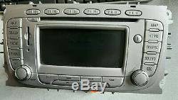 Ford Focus Cmax Mondeo Blaupunkt Fx Lsrns Navi Navigation Radio Gps Sat Nav