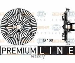 HELLA Clutch radiator fan BEHR HELLA SERVICE PREMIUM LINE 8MV 376 732-1