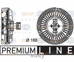 HELLA Clutch radiator fan BEHR HELLA SERVICE PREMIUM LINE 8MV 376 734-3