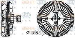 Hella Visco Kühler Lüfter Rad Wasserkühler 8mv 376 734-381 I Neu Oe Qualität
