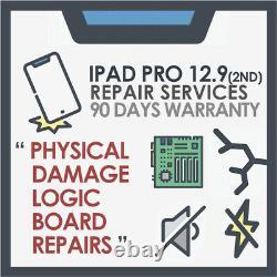 IPad Pro 12.9 2nd Gen Motherboard Logic board & Physical Damage Repair Service