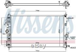 NISSENS Coolant Radiator 606049