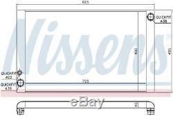 NISSENS Engine Coolant Radiator 60428 (SPEC ORDER non-UK stock)