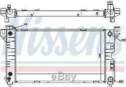 NISSENS Engine Coolant Radiator 60984