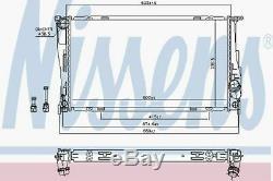 NISSENS Engine Cooling Radiator 60832 Fits BMW