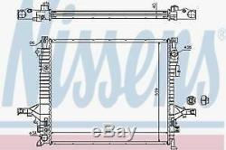 New Nissens Coolant Radiator 65613a Volvo Xc90 2002-2014