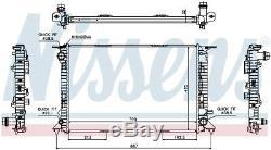 Nissens 60317 Engine Coolant Radiator Next working day to UK