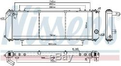 Nissens 61008 Engine Coolant Radiator Next working day to UK