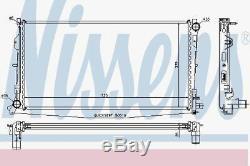 Nissens 61018A Radiator fit CHRYSLER VOYAGER 2.8 D 04