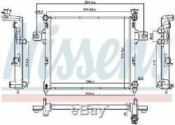 Nissens 61038 Radiator Engine Cooling