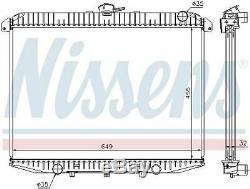 Nissens 62069a Radiator Engine Cooling Man
