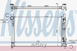 Nissens 62786A Radiator fit MERCEDES W203 00