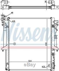 Nissens 62896 Engine Coolant Radiator Next working day to UK