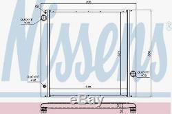 Nissens 64314 Radiator fit RANGE ROVER III 4,4 02
