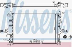 Nissens 65557A Radiator fit VOLVO S 80 5 CYL TURBO 99