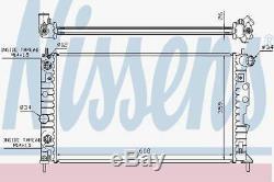 Nissens 68003A Radiator fit SAAB 9-5 3,0 V6 AUT. 97