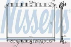 Nissens Radiator 62069A Fits NISSAN