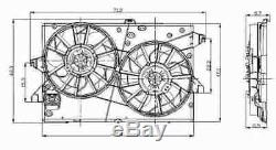 Nrf Engine Cooling Radiator Fan 47003 P New Oe Replacement