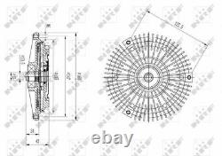 Nrf Radiator Cooling Fan Clutch 49594 P New Oe Replacement