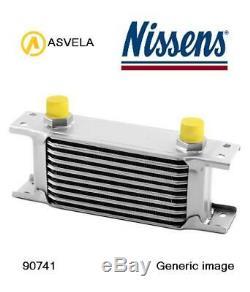 Oil Cooler Engine Oil For Opel Vauxhall Corsa E X15 B 16 Ler B 16 Les Nissens