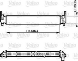 Original VALEO Kühler Motorkühlung 735310 für Audi Seat Skoda VW