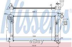 Radiator Engine Cooling For Toyota Corolla E12 4zz Fe 3zz Fe 2zz Ge Nissens