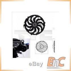 Radiator Fan Bmw Tyc Oem 64541382775 8030003 Genuine Heavy Duty