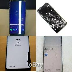 Samsung Galaxy S9 + Plus Damage Cracked OLED LCD Display Repair Mail In Service