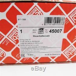 Steuerkettensatz FEBI Audi VW 2,7l 3,0l V6 TDI Kettenspanner Steuerkette 2.7 3.0