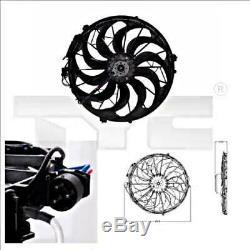 TYC Radiator Cooling Fan Fits BMW E36 E34 E32 E31 Hatchback Saloon 1986-2000