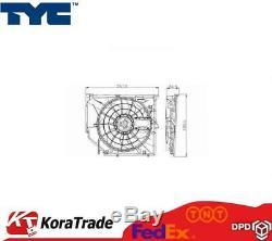 Tyc 803-0005 Oe Quality Radiator Fan