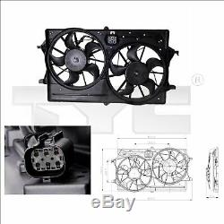 Tyc Engine Cooling Radiator Fan 810-0016 G New Oe Replacement