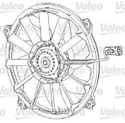 VALEO Lufter Klimaanlage Kondensator 396 mm für CITROEN C4 PEUGEOT 307 2000