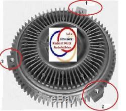 Viscolüfterkupplung, Erstaurüsterversion, BMW E39 E38, Teile Nr. 11521745134