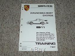 1984 Porsche 911 Carrera Body Service Damage Repair Manual 1985 1986 1987 1988